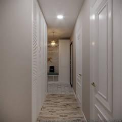 Koridor & Tangga Gaya Mediteran Oleh дизайн-бюро ARTTUNDRA Mediteran
