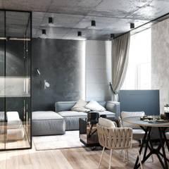 Gwiezdna droga: styl , w kategorii Salon zaprojektowany przez Valido Architects