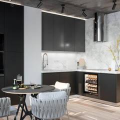 Gwiezdna droga: styl , w kategorii Kuchnia zaprojektowany przez Valido Architects