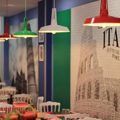 REFORMA DE RESTAURANTE SAPORI D'ITALIA: Locales gastronómicos de estilo  de Novodeco