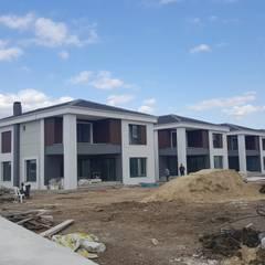 Country style office buildings by MAG Tasarım Mimarlık İnşaat Emlak San.ve Tic.Ltd.Şti. Country