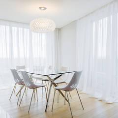 Реализация дизайн-проекта квартиры в ЖК «АЭРОБУС»: Столовые комнаты в . Автор – Артскор