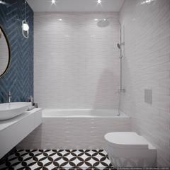 Baños de estilo  por дизайн-бюро ARTTUNDRA