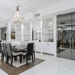Реализация дизайн-проекта квартиры 400 м2: Столовые комнаты в . Автор – Артскор