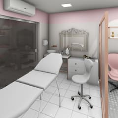 Modern clinics by Creativitá Arquitetura e Interiores Modern