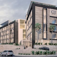 CH Hotel: Anexos de estilo  por NOGARQ C.A.,