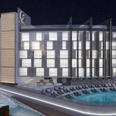 S Hotel: Anexos de estilo  por NOGARQ C.A.,