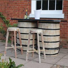 Double Barrel Bar:  Garden by Garden Furniture Centre
