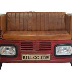 Indian lorry sofa:  Garden by Garden Furniture Centre