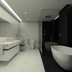Projetos: Banheiros  por Arquiteta Giovana Beretta
