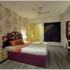 Kleines Schlafzimmer von Traansformation Design Studio