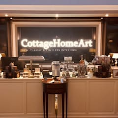 辦公室&店面 by CottageHomeArt - Est. 2012 | Maßmöbelhaus & 3D Interior Design