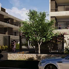 Gustavo Avila, arquitecto:  tarz Bitişik ev