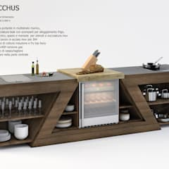 Bodegas de estilo  por ZED EXPERIENCE - indoor & outdoor kitchen