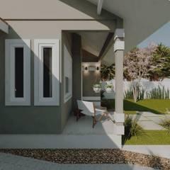 منزل بنغالي تنفيذ Cíntia Schirmer | Estúdio de Arquitetura e Urbanismo