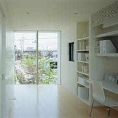 子ども部屋: 松岡淳建築設計事務所が手掛けた子供部屋です。