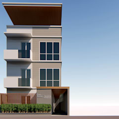 A Proposed 4 Storey Residential Development:  Houses by Each Studio