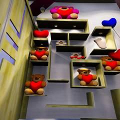 Galerías y espacios comerciales de estilo moderno de Cindy Castañeda Moderno