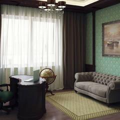 Дом с ароматом сирени. Частный дом в ст. Динская.: Рабочие кабинеты в . Автор – PolyArt Design