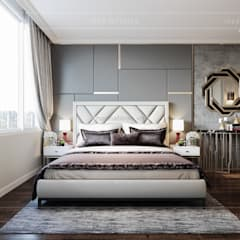 Modern style ~ Thiết kế nội thất hiện đại tinh tế từng chi tiết:  Phòng ngủ by ICON INTERIOR