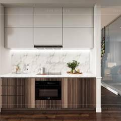 Modern style ~ Thiết kế nội thất hiện đại tinh tế từng chi tiết:  Nhà bếp by ICON INTERIOR