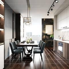Modern style ~ Thiết kế nội thất hiện đại tinh tế từng chi tiết:  Phòng ăn by ICON INTERIOR
