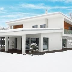 CASE A PROGETTO MODERNE: Casa di legno in stile  di Sangallo srl