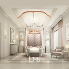 Villa Interior Design – Bedroom Design Ideas for Young Girls:  Bedroom by IONS DESIGN