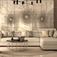 Living room by Fabmodula, Modern