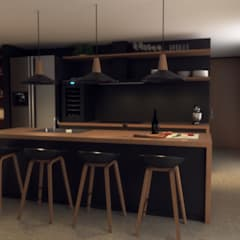 Small kitchens by Gliptica Design