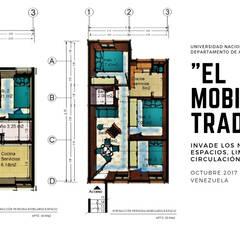 Casas unifamiliares de estilo  por Cindy Castañeda