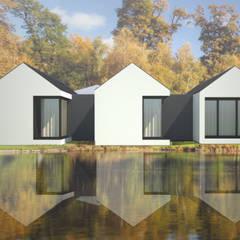 Prefabricated Home by Atelier 72 - Arquitetura, Lda