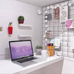 Proy Jasmine Market: Estudios y oficinas de estilo  por Estudio Equilibrio