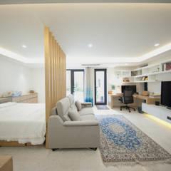 자곡동 J씨 하우스: designforn의  침실