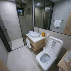 자곡동 J씨 하우스: designforn의  욕실