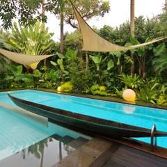 Pool by Bobos Design , Tropical