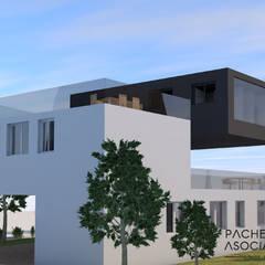 Detached home by Pacheco & Asociados