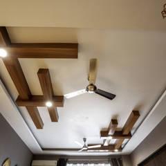 Living room by Woodofa Lifestyle Pvt. Ltd.