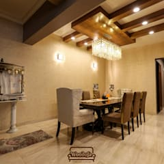 Dining room by Woodofa Lifestyle Pvt. Ltd.