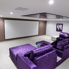 IMMERSIVE 360 CINEMA Home Cinema: Produtos eletrónicos  por Projection Dreams / CUSTOM CINEMA 360 LDA,