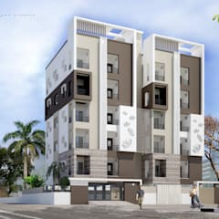 Projekty,  Dom wielorodzinny zaprojektowane przez KEYSTONE DESIGN STUDIOS