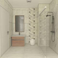 SKY İç Mimarlık & Mimarlık Tasarım Stüdyosu – banyo:  tarz Banyo