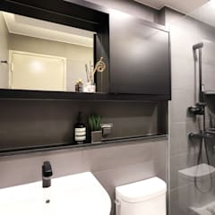 Bathroom by 디자인담다