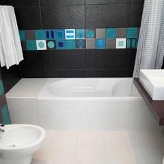 CASAS de BANHO By ALR.: Casas de banho  por Atelier  Ana Leonor Rocha