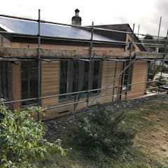 Scorrier - Large Extension:  Prefabricated home by Building With Frames