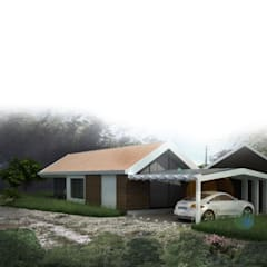 منزل ريفي تنفيذ Andrés Hincapíe Arquitectos  A H A