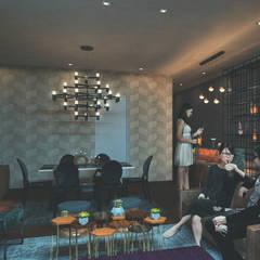 Departamento de soltero de Fernando Borda Arquitectura de Interiores Ecléctico