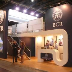 Exhibition centres by Faerman Stands y Asoc S.R.L. - Arquitectos - Rosario