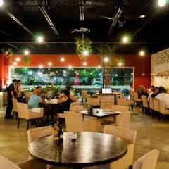 Restaurante Perche No: Restaurantes de estilo  por MoisesMedinaDesign
