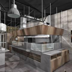 Render propuesta 2: Restaurantes de estilo  por MoisesMedinaDesign